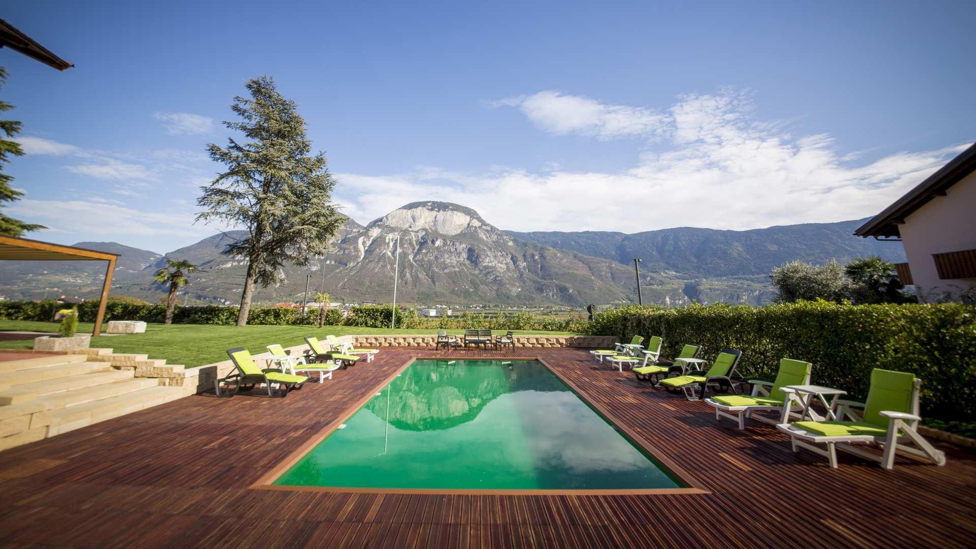 hotel con piscina bolzano